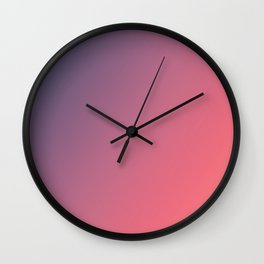 Orchid Bouquet - Gradients are the new colors Wall Clock