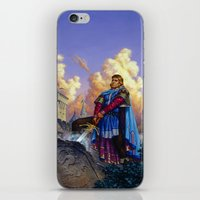 tyrion iPhone & iPod Skins featuring King Arthur by Hescox
