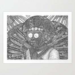 Lampião Art Print
