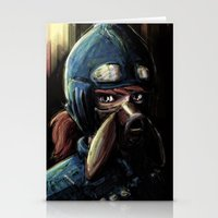 nausicaa Stationery Cards featuring Nausicaa of the Valley of the Wind by Barrett Biggers