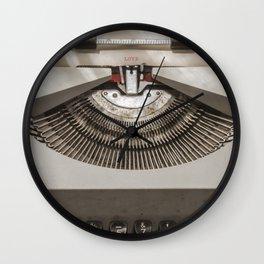 Writing love Wall Clock