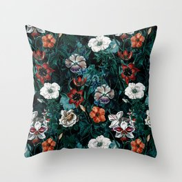 NIGHT FOREST XXI Throw Pillow