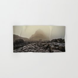 The land of mountains and stones Hand & Bath Towel