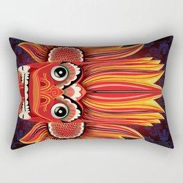 Sri Lankan Fire Demon Rectangular Pillow