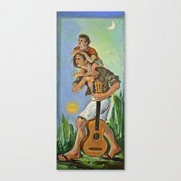 artist & son Canvas Print