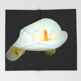 Calla Lily Throw Blanket
