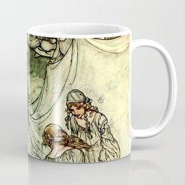 """Titania"" by Arthur Rackham From Shakespeare Coffee Mug"