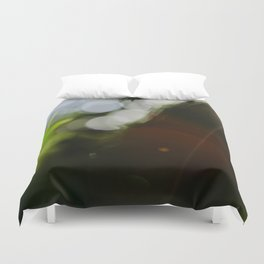 Finding the Light IV Abstract Photography Duvet Cover