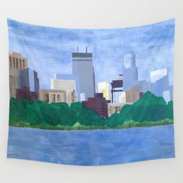 Calhoun Minneapolis Wall Tapestry