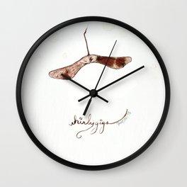 Whirlygig Wall Clock