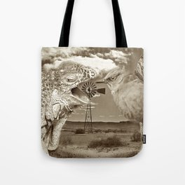 Tourists in Namaqualand at Night Tote Bag