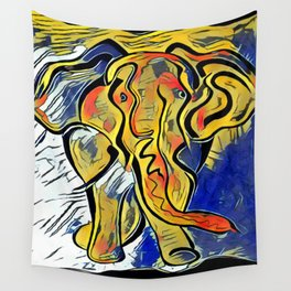 Lilys Elephant Wall Tapestry