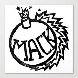 MackBomb Canvas Print