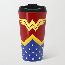Wonder Of Woman - Superhero Metal Travel Mug