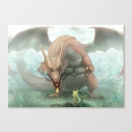 Pokémon Canvas Print