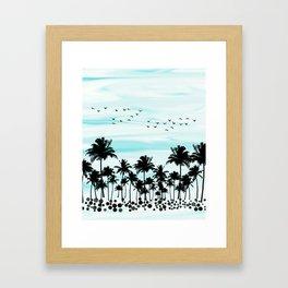 Summer vibes Framed Art Print
