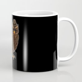 Cool Owl With A Hat | Night Active In The Clubs. Coffee Mug