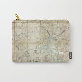 Map of Yellowstone National Park (1886) Carry-All Pouch