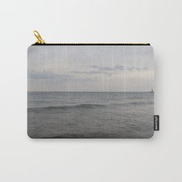 Distant Lighthouse on Lake Michigan Carry-All Pouch