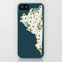 Virginia in Flowers iPhone Case