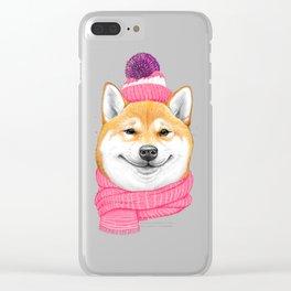 Shiba inu Clear iPhone Case