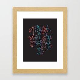jelly form Framed Art Print