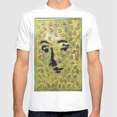 GREEN VENUS Mens Fitted Tee White SMALL