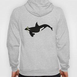 Killer Whale Headphones Hoody