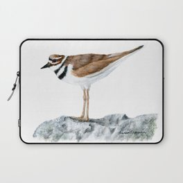 Killdeer Art 1 by Teresa Thompson Laptop Sleeve