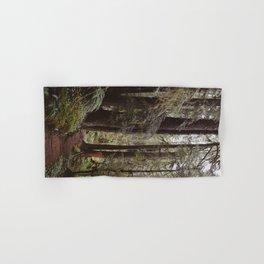 Vintage Hiking Trail Hand & Bath Towel