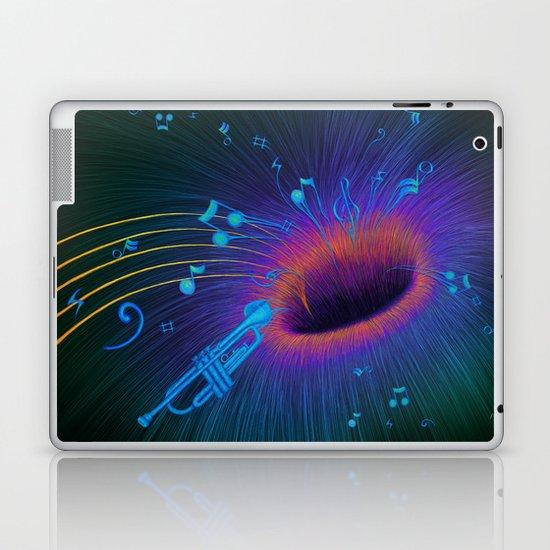 Music Void - Illustration Laptop & iPad Skin