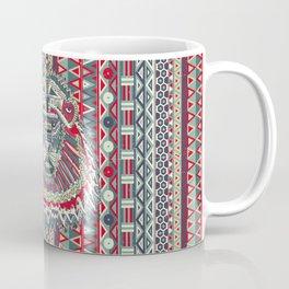 tribal lion Coffee Mug