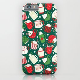 Christmas Cocoa Traditional iPhone Case