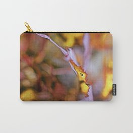On a Leaf Edge Carry-All Pouch