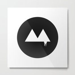 The Triangle spilled Metal Print