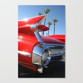 Classic Cadillac Fins Canvas Print