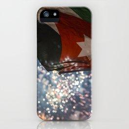 Jordan Fireworks iPhone Case