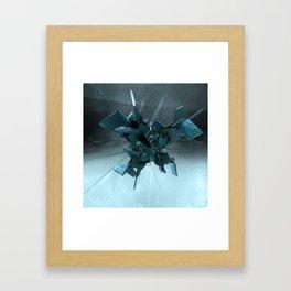 Kaos I Framed Art Print