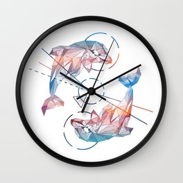 Spirit of the Dolphin Wall Clock