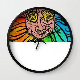 Psychosis Wall Clock