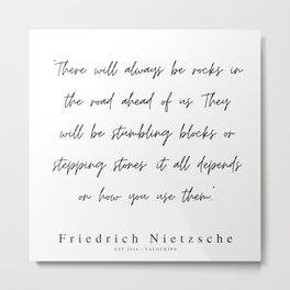 40        | 200319 |  Friedrich Nietzsche Quotes Metal Print