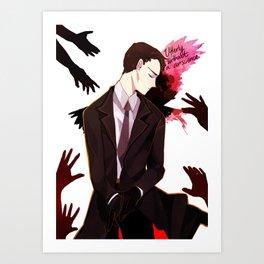 Six of Crows - Kaz Brekker Art Print