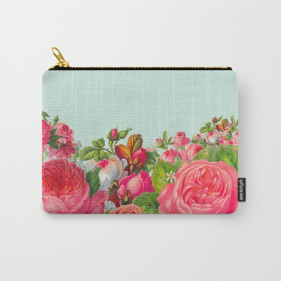 BOLDEST FLORAL Carry-All Pouch