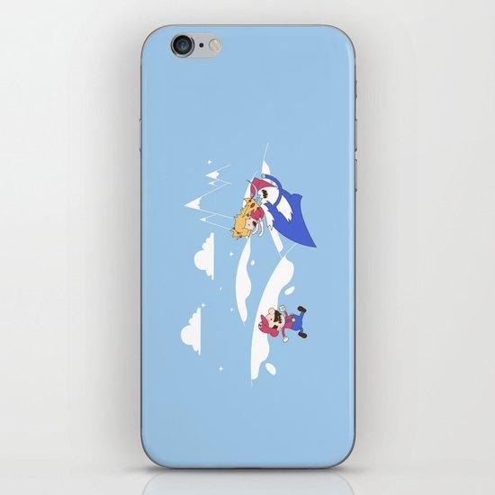 Mario's Adventure Time iPhone & iPod Skin