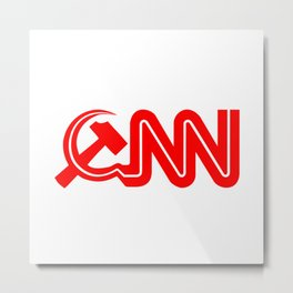 Communist News Network Metal Print