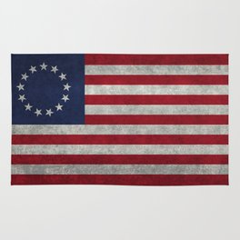 USA Betsy Ross flag - Vintage Retro Style Rug
