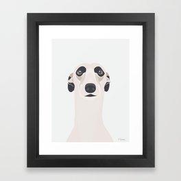 Mynde Portræt Framed Art Print