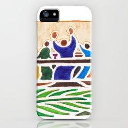 Last Supper iPhone Case