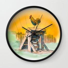 Cock A Doodle Doo Wall Clock