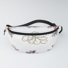 Quercus (reds) Fanny Pack